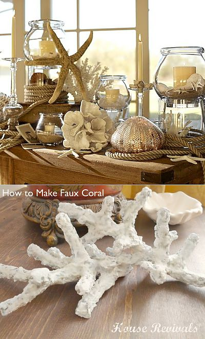 Self-made corals. Easily and beautifully! MK.