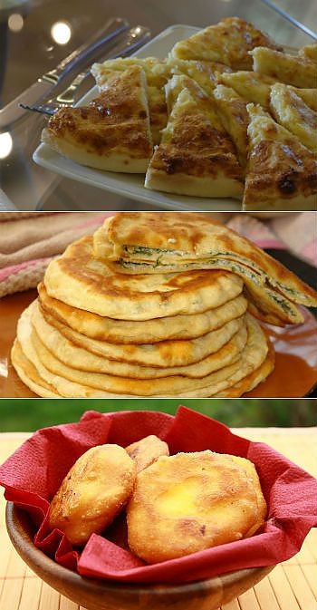 Incredibly tasty, fragrant and madly easy flat cakes in preparation - recipes of preparation.